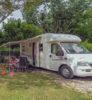 table camping car